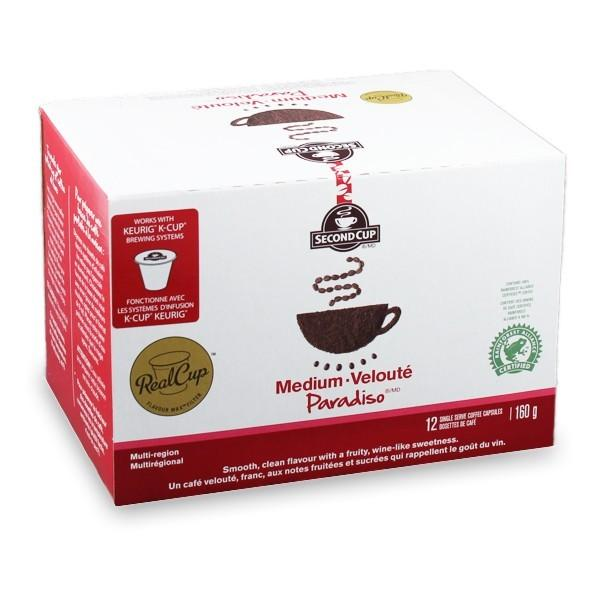 Second Cup Paradiso Dark Single Serve Coffee (24 Pack)