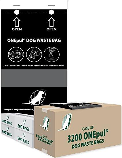 Singlpul® Dog Waste Bags (Case of 3200)