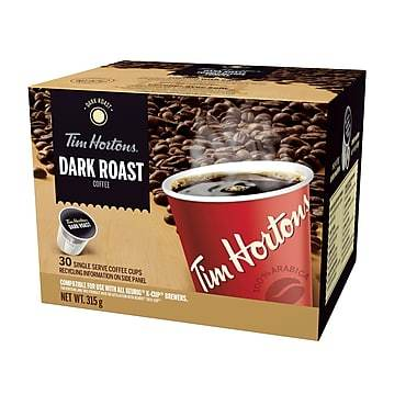 Tim Hortons® Dark Roast Single Serve Coffee (24 Pack)