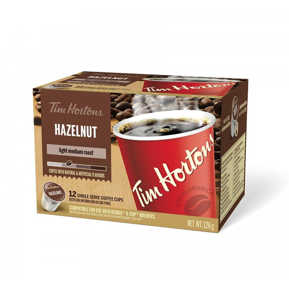 Tim Hortons® Hazelnut Single Serve Coffee (12 Pack)