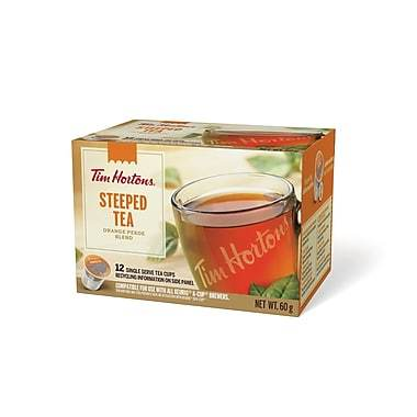 Tim Hortons® Steeped Tea Single Serve Cups (12 Pack)