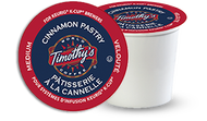 Timothy's® Cinnamon Pastry Single Serve K-Cup® Pods (24 Pack)