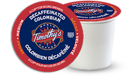 Timothy's® Decaffeinated Colombian Single Serve K-Cup® Pods (24 Pack)