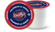 Timothy's® Colombian La Vereda Single Serve K-Cup® Pods (24 Pack)