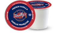 Timothy's® French Vanilla Single Serve K-Cup® Pods (24 Pack)