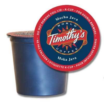Timothy's® Mocha Java Single Serve K-Cup® Pods (24 Pack)