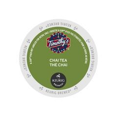 Timothy's® Chai Tea Single Serve Tea Pods (24 Pack)