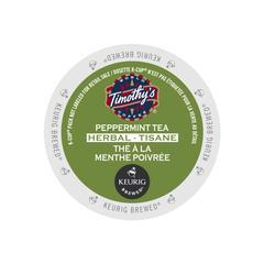 Timothy's® Peppermint Single Serve Tea Pods (24 Pack)