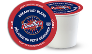 Timothy's® Breakfast Blend Single Serve K-Cup® Pods (24 Pack)