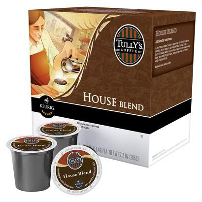Tully's® House Blend Single Serve Coffee Cups(24 Pack)