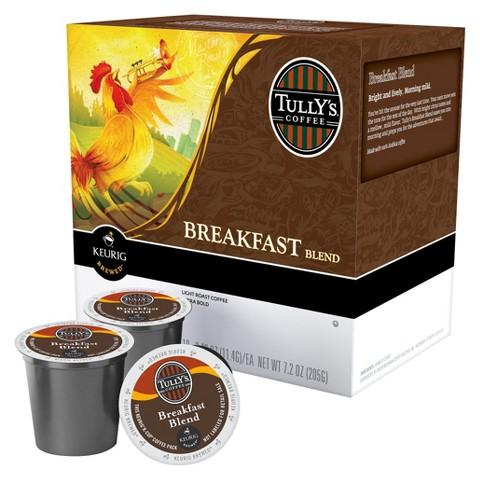 Tully's® Breakfast Blend Single Serve Coffee Cups(24 Pack)