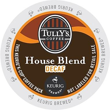 Tully's® House Blend Decaf Single Serve Coffee Cups(24 Pack)