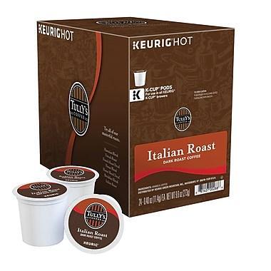 Tully's® Italian Roast Single Serve Coffee Cups(24 Pack)