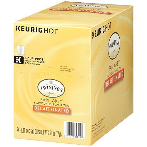 Twinings® Earl Grey Decaf Tea K-Cup® Pods (24 Pack)