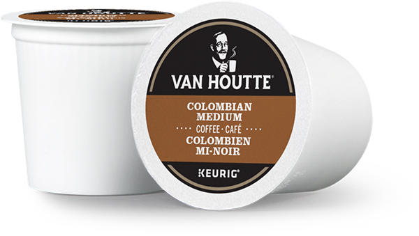 Van Houtte® Colombian Medium Single Serve K-Cup® Coffee Pods (24 Pack)