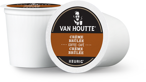 Van Houtte® Creme Brulee Single Serve K-Cup® Coffee Pods (24 Pack)