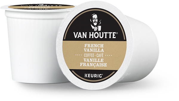 Van Houtte® French Vanilla Single Serve K-Cup® Coffee Pods (24 Pack)