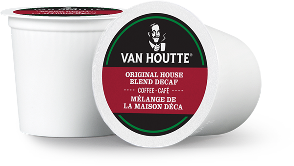 Van Houtte® Original House Blend Decaf Single Serve K-Cup® Coffee Pods (24 Pack)