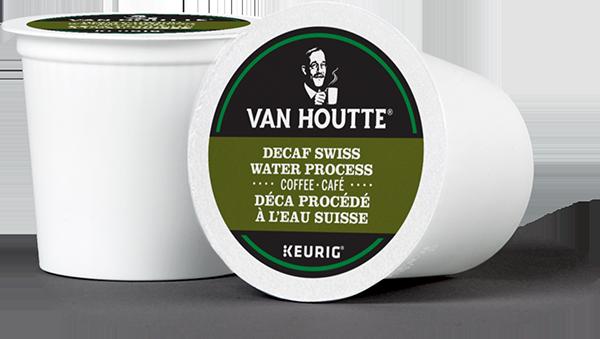 Van Houtte® Decaf Swiss Water Process Single Serve K-Cup® Coffee Pods (24 Pack)