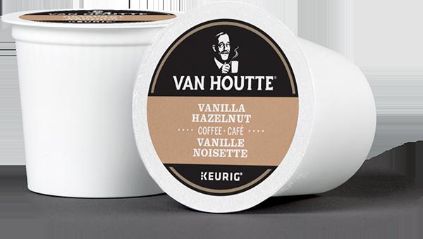 Van Houtte® Vanilla Hazelnut Single Serve K-Cup® Coffee Pods (24 Pack)