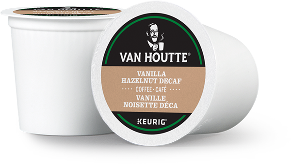 Van Houtte® Vanilla Hazelnut Decaf Single Serve K-Cup® Coffee Pods (24 Pack)