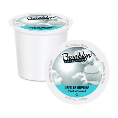 Brooklyn Bean Vanilla Skyline Single Serve Coffee Cups (24 Pack)