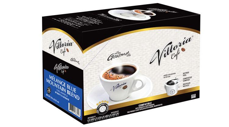 Vittoria Café Mountain Blend Single Serve Coffee (24 Pack)