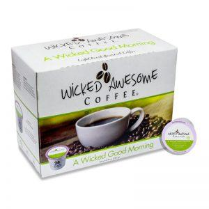 Wicked Awesome Coffee A Wicked Good Morning Single Serve Coffee Cups (24 Pack)