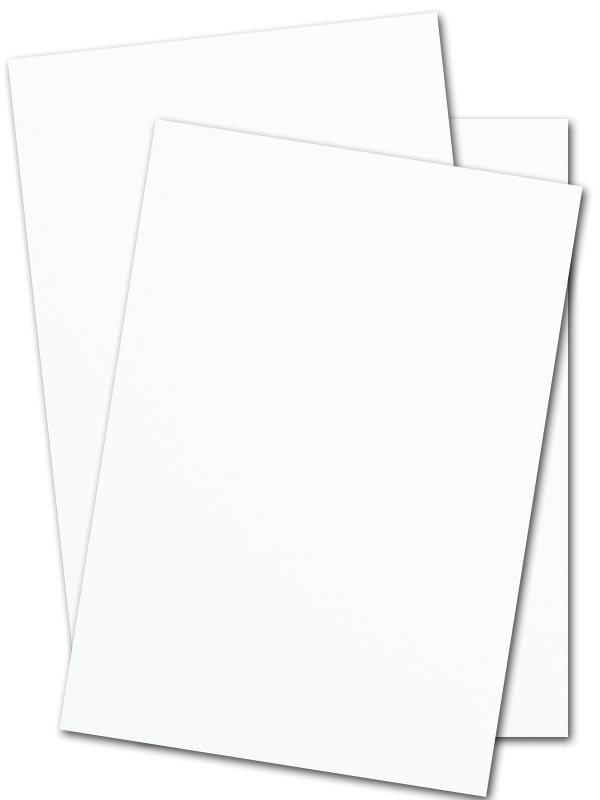 White 12 point Cardstock Paper 11 x 17 - 1000 sheets