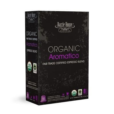 Barrie House Organic Aromatico Nespresso Compatible Capsules, 10 Pack