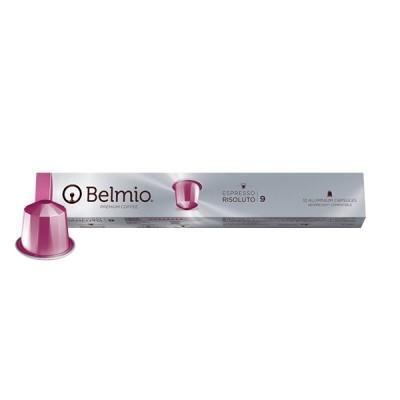 Belmio Risoluto Nespresso Compatible Capsules, 10 Pack