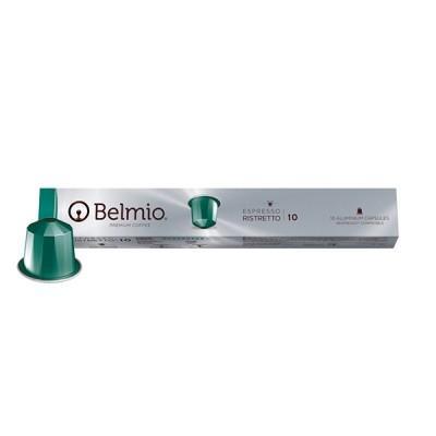Belmio Ristretto Nespresso Compatible Capsules, 10 Pack