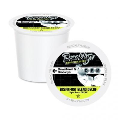 Brooklyn Bean Breakfast Blend Decaf Single Serve Coffee Cups (24 Pack)