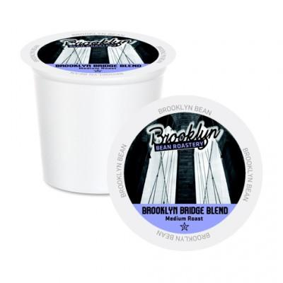 Brooklyn Bean Brooklyn Bridge Blend Single Serve Coffee Cups (24 Pack)