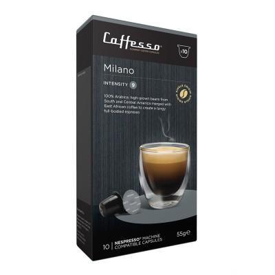 Caffesso Milano Nespresso Compatible Capsules, 10 Pack