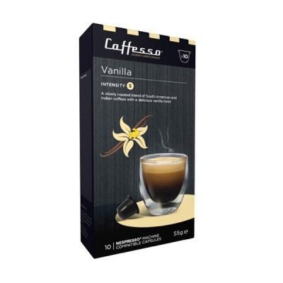 Caffesso Vanilla Nespresso Compatible Capsules, 10 Pack
