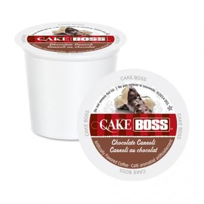 Cake Boss Chocolate Canolli Single Serve Coffee (24 Pack)