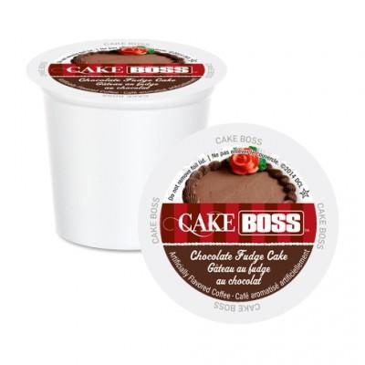 Cake Boss Chocolate Fudge Cake Single Serve Coffee (24 Pack)