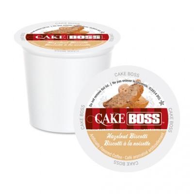 Cake Boss Hazelnut Biscotti Single Serve Coffee (24 Pack)
