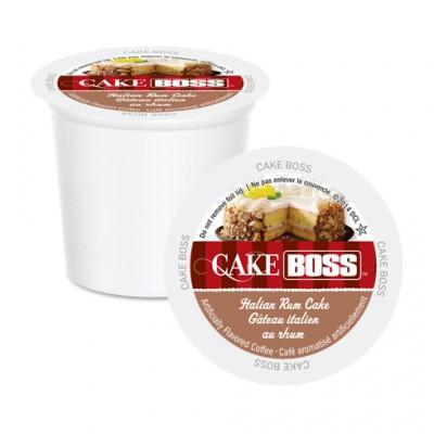 Cake Boss Italian Rum Cake Single Serve Coffee (24 Pack)