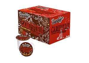 Brooklyn Beans Campfire Single Cup Serve Hot Cocoa (24 Pack)