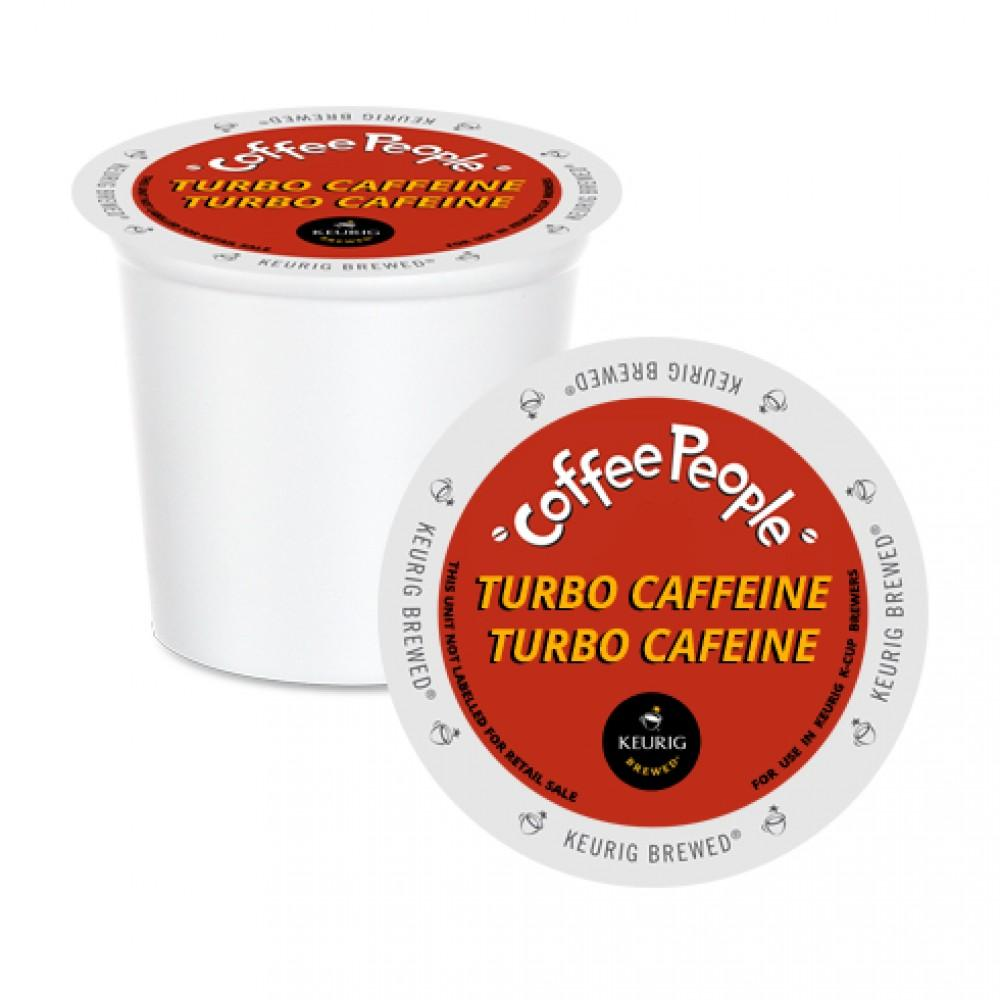 Coffee People® Turbo Caffeine Single Serve Coffee (24 Pack)