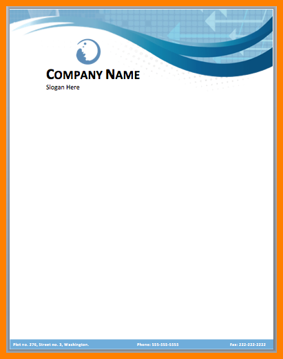 Custom printed Letterhead - Recycled Paper Grade