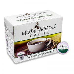 Wicked Awesome Coffee Wicked Decaf Single Serve Coffee Cups (24 Pack)