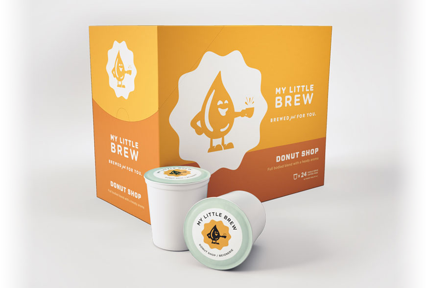 My Little Brew Donut Shop Single Serve Coffee Cups (24 Pack)
