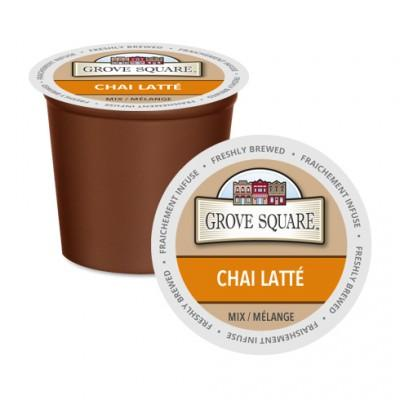 Grove Square Chai Latte Single Serve Tea (24Pack)