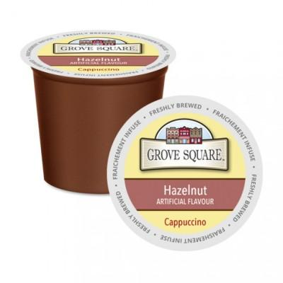 Grove Square Hazelnut Cappuccino Single Serve Coffee (24Pack)