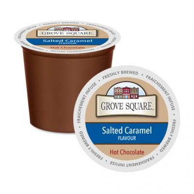 Grove Square Salted Caramel Single Serve Hot Chocolate (24Pack)