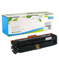Fuzion New Compatible Black Toner Cartridge for HP CF500X