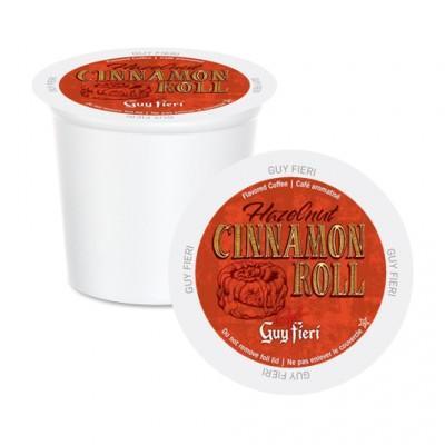 Guy Fieri Hazelnut Cinnamon Single Serve Coffee (24 Pack)